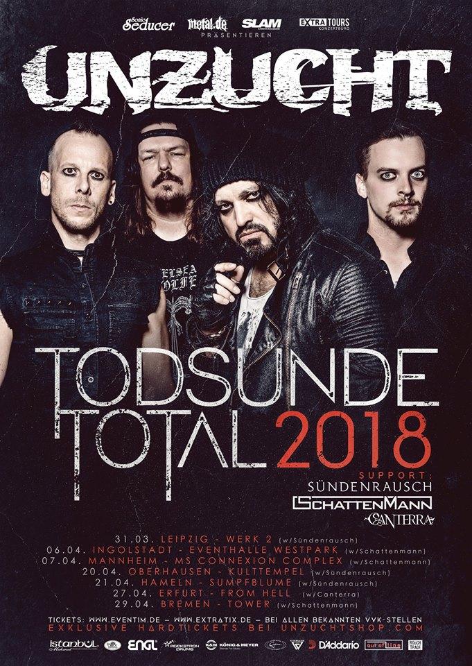 Touposter Unzucht Total 2018