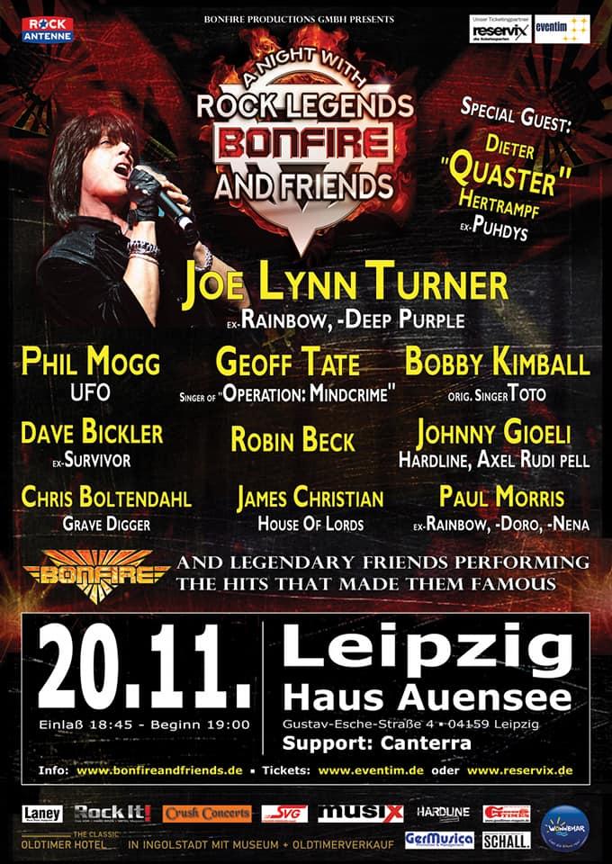 20.11.2018_Leipzig_Poster_Bonfire and Friends Canterra Weimar